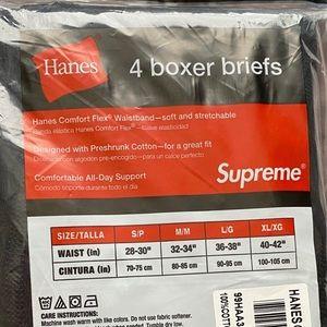 Supreme Underwear & Socks - Supreme x Hanes Authentic  Boxer Brief